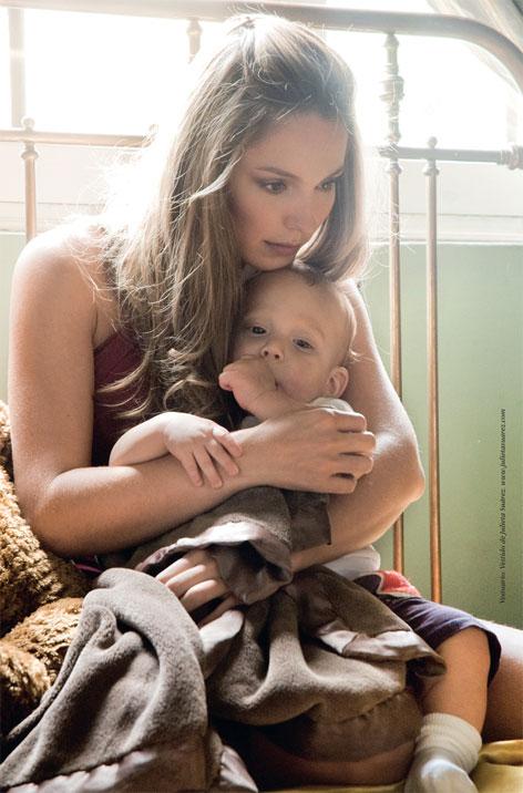 Claudia Bahamon e hijo Gente
