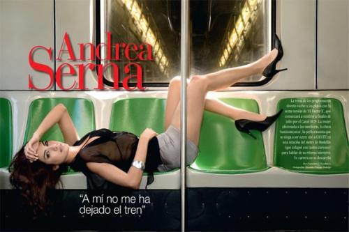 Andrea Serna Metro Revista GENTE