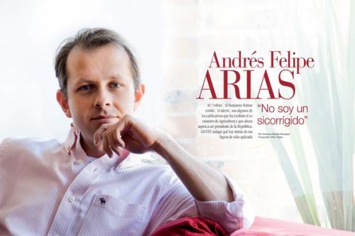 ANDRES FELIPE ARIAS REVISTA GENTE