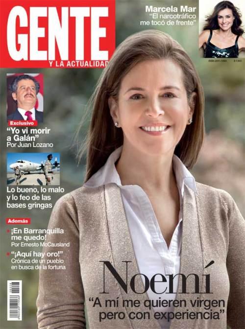 Noemí Sanín Revista Gente