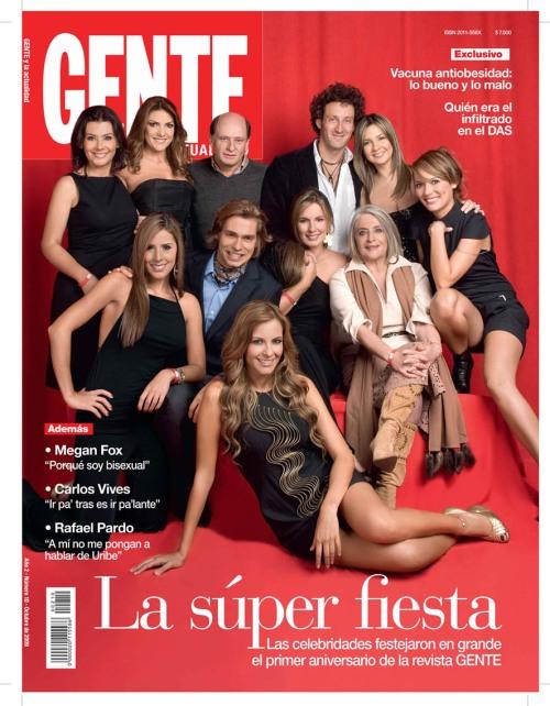 Portada GENTE / Octubre / Fotografía: Ricardo Pinzón © Revista GENTE