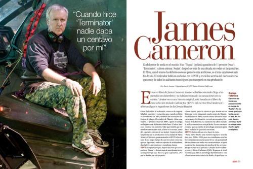 James Cameron en GENTE Colombia