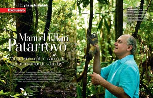 Manuel Elkin Patarroyo con Revista GENTE Colombia