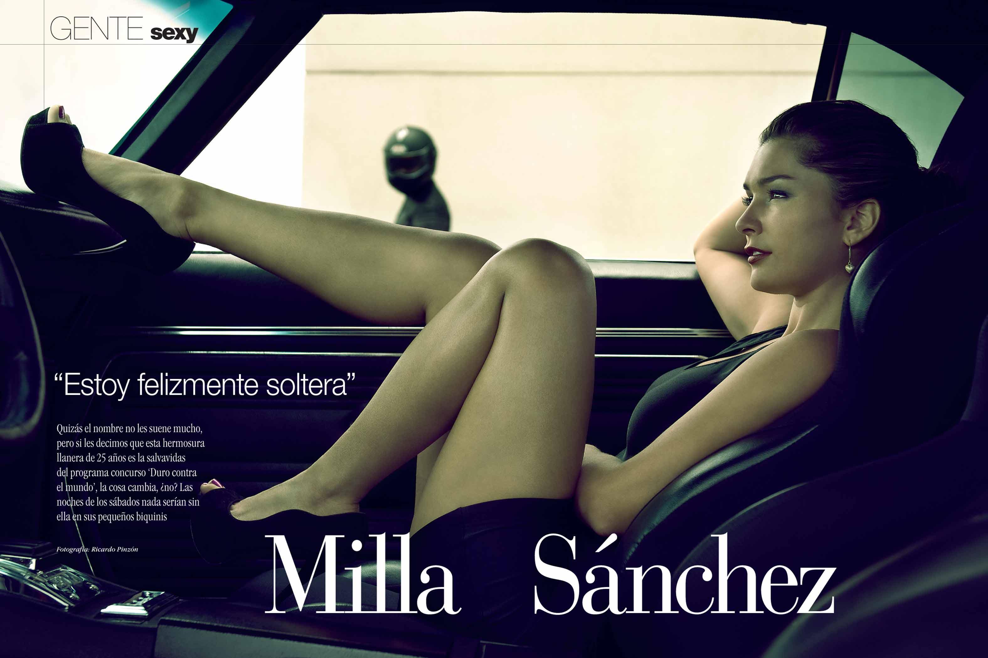 Milla Sánchez, La Salvavidas