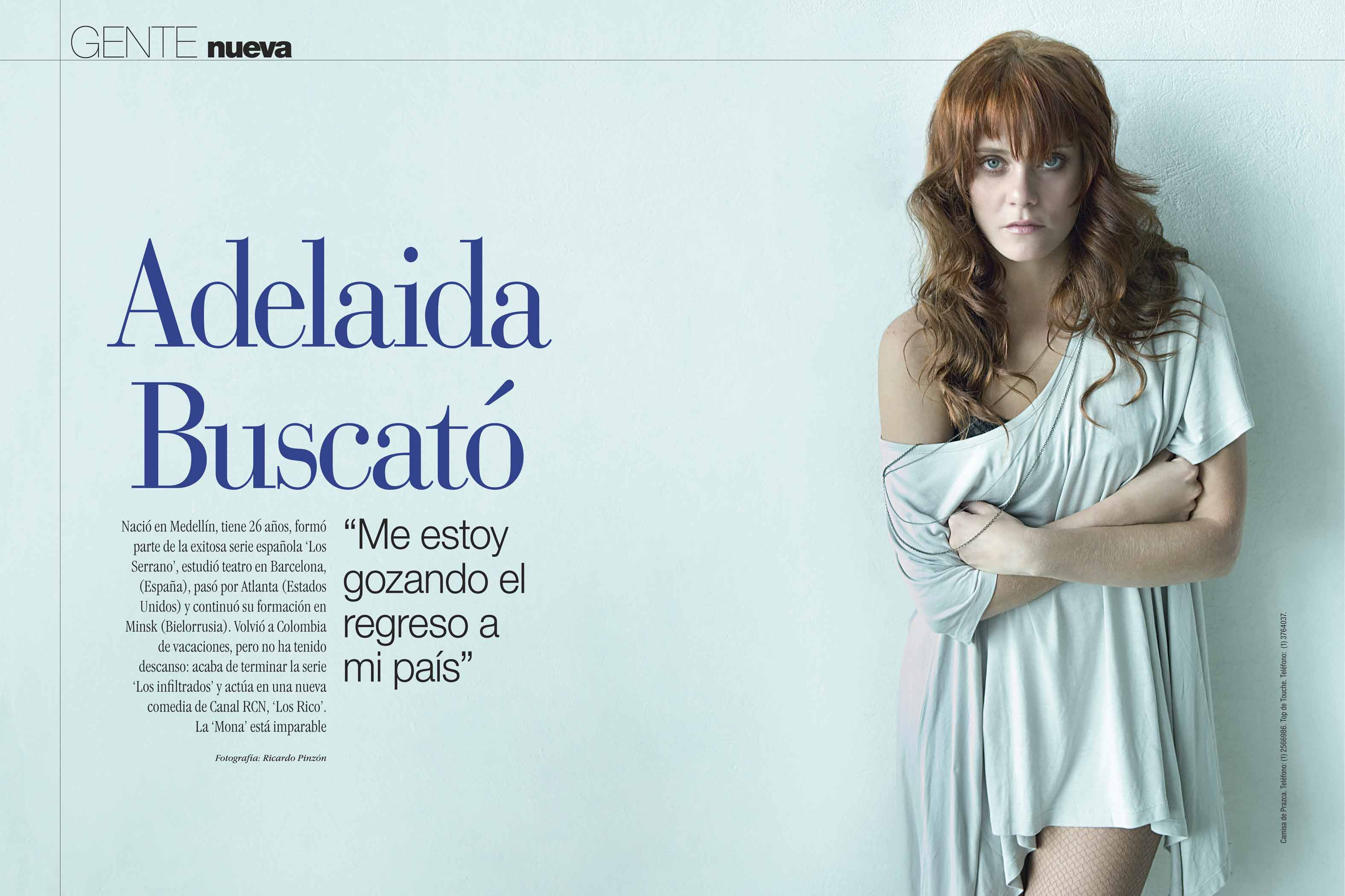 Andrea Lopez Actriz Colombiana Biografia