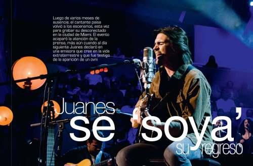 Juanes. / Revista GENTE Colombia